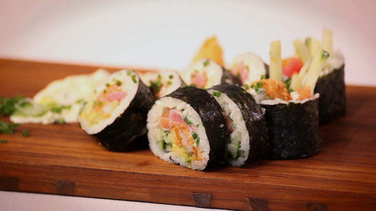 Ricardo > Cuisiner un maki trio de la mer