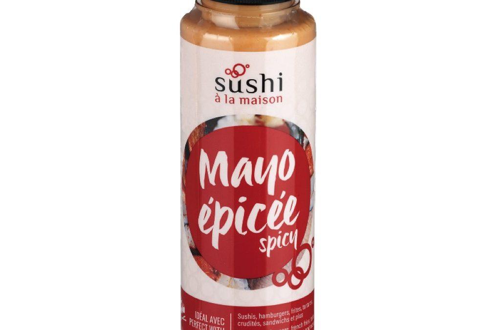 Mayonnaise épicée Sushi à la maison