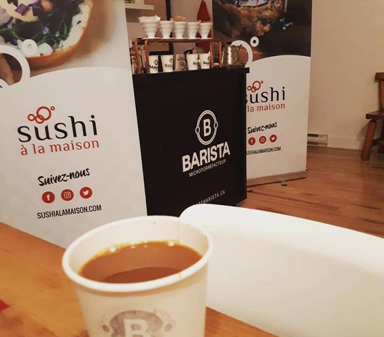 Moutarde au Café en collaboration avec Barista, Microtorréfacteur