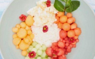 Poke boules de fruits