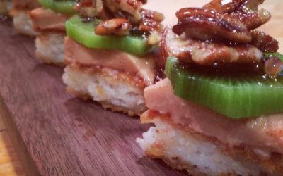 Pizza Sushi Ma foie du bon Dieu à l'érable