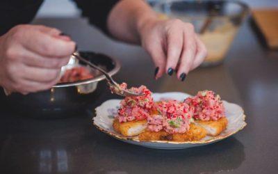 Tartare de thon rouge et miso blanc