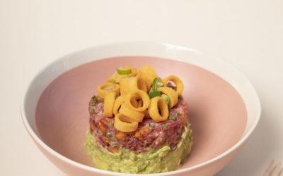 Tartare de boeuf, Ringolos et guacamole (recette du magazine #2)