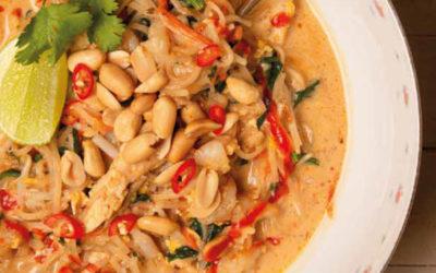 Pad thaï soupe